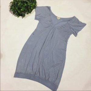 WILFRED tunic short sleeve top sky blue